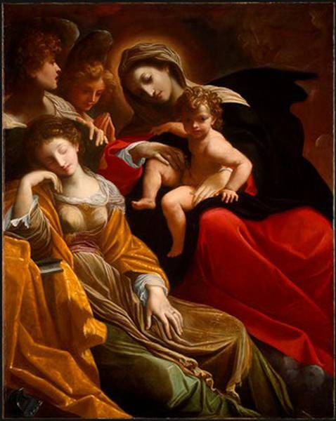 The Dream of Saint Catherine of Alexandria